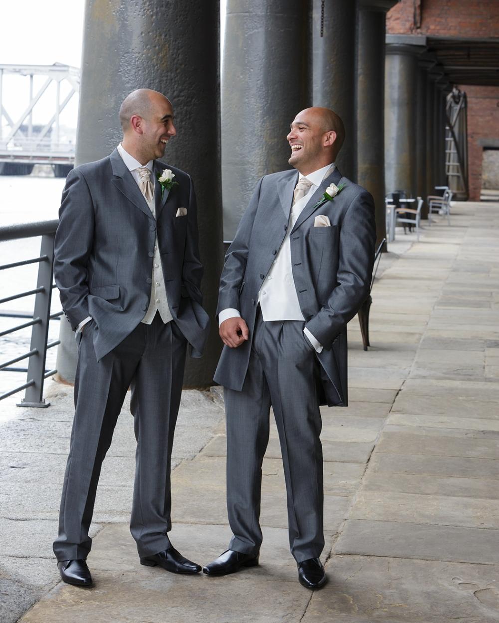 Titanic Hotel Wedding bestman