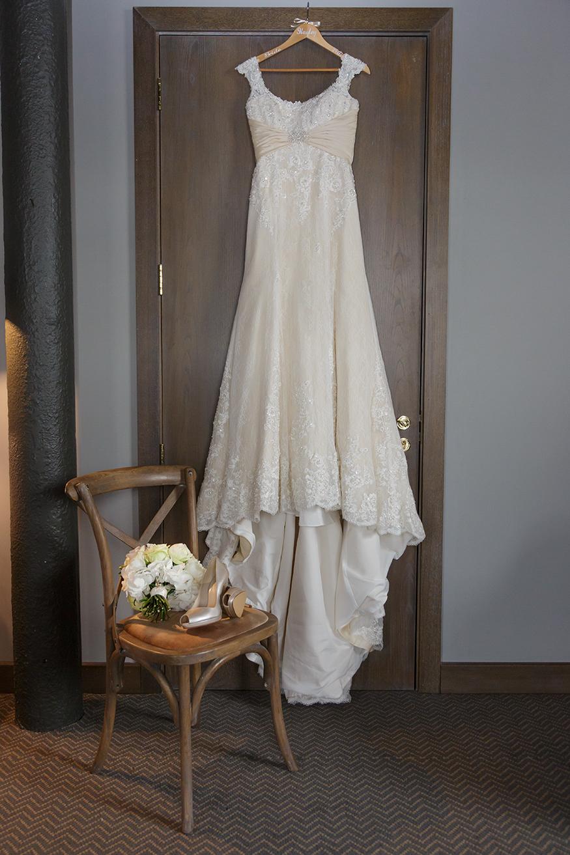 Titanic Hotel Wedding Dress