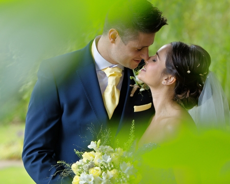 Bride & Groom Gardens Barton Grange