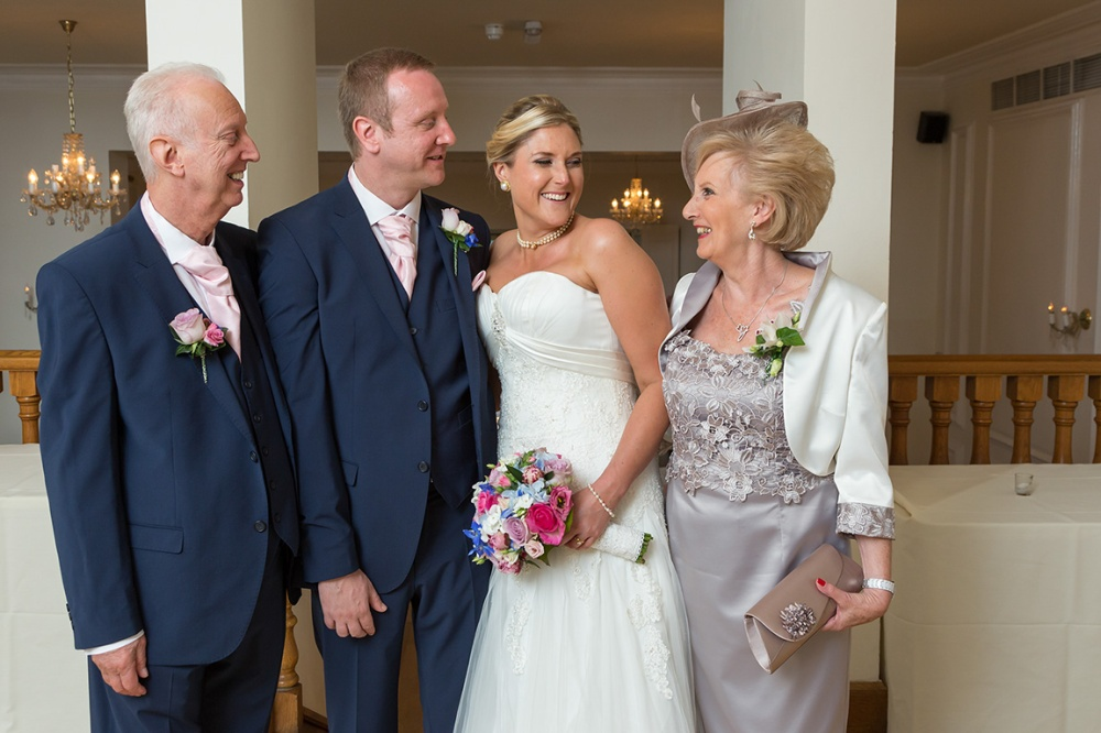 Informal & formal images of the family inside the The West Tower Hotel