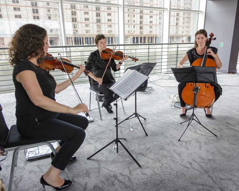 Titanic Hotel Wedding String Trio