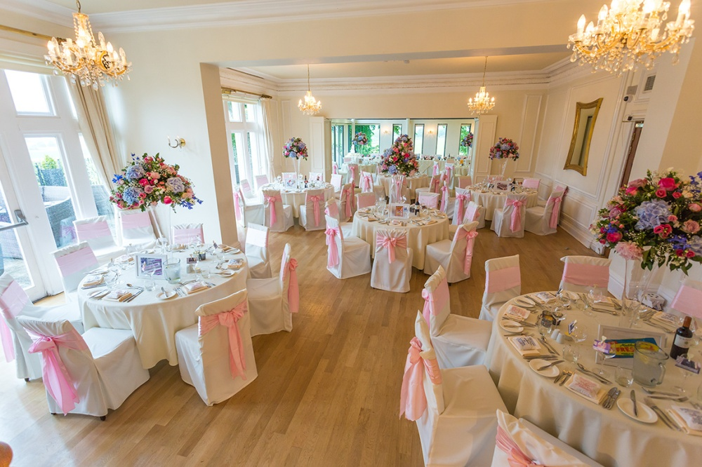 Wedding Reception Room at the West Tower Hotel
