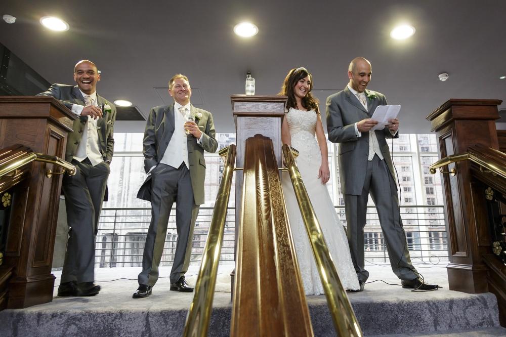 Titanic Hotel Wedding Speeches