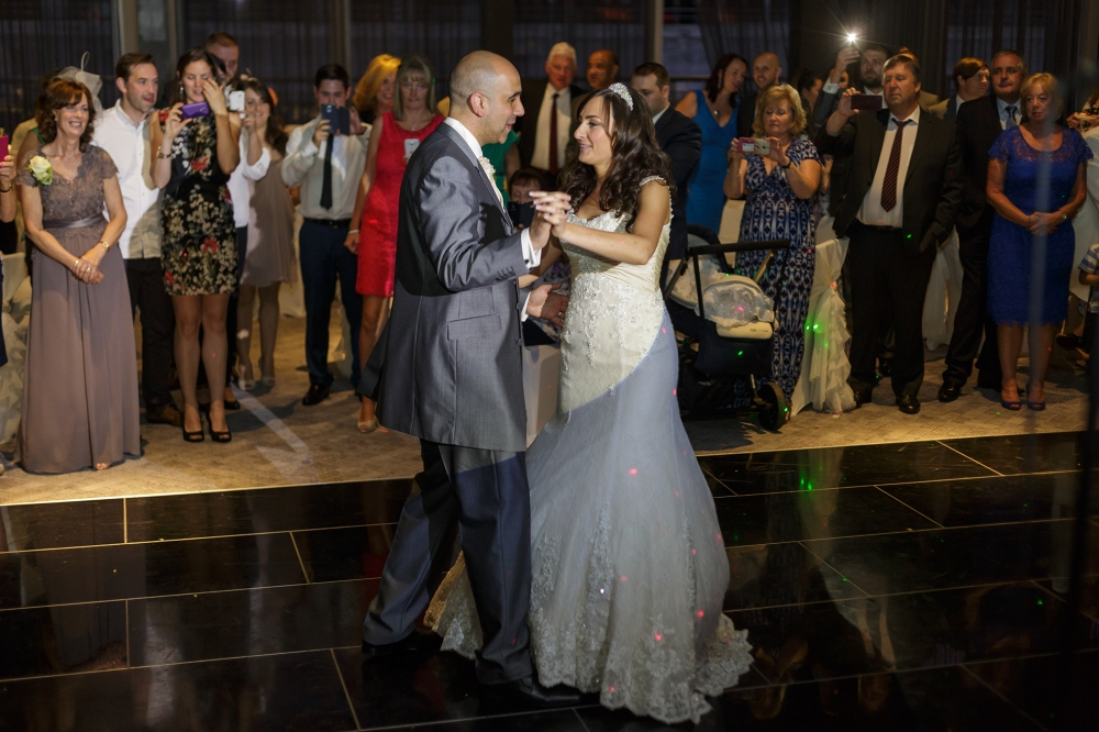 Titanic Hotel Wedding Bride Dance
