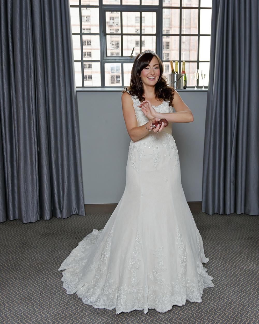 Titanic Hotel Wedding Bride Preparation perfume