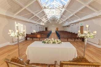 Wedding Ceremony Room Leasowe Castle Liverpool Photographer