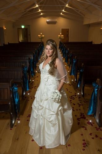 Twiglight Wedding Leasowe Castle Bride