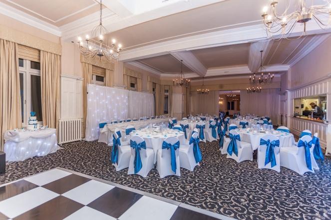 Wedding Reception Room Leasowe Castle Liverpool Photographer