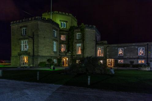 Twighlight Wedding Leasowe Castle