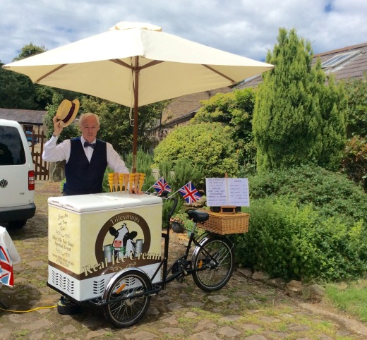 ice cream bike Liverpool Lancashire & Manchester