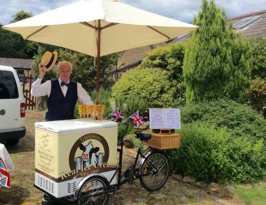 ice cream bike Liverpool Lancashire & Manchester