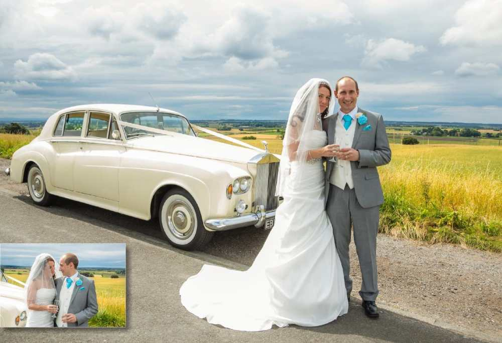 wedding photographer, The West Tower Hotel, Clieves Hills views