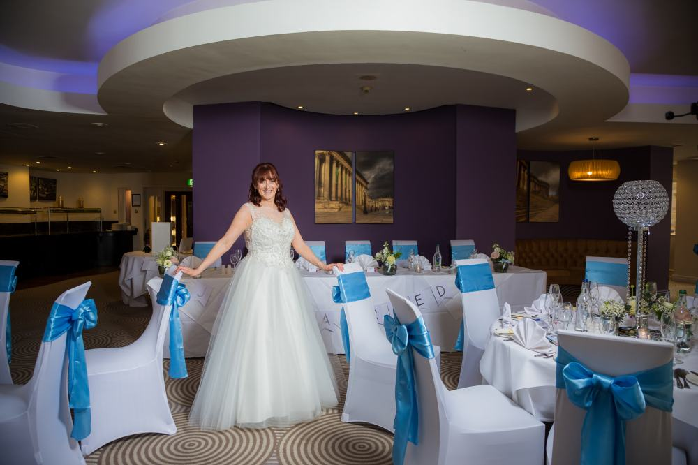 Atlantic Tower Hotel proud bride