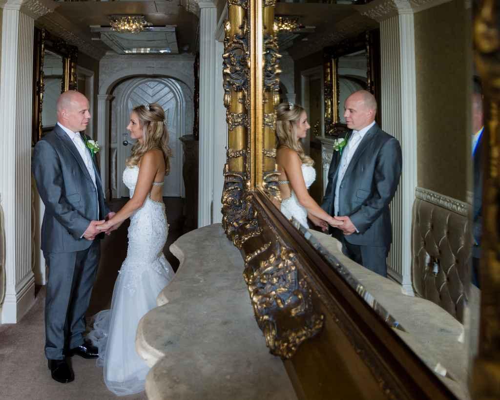Bride & Groom Mirror 38 James Street Hotel Liverpool