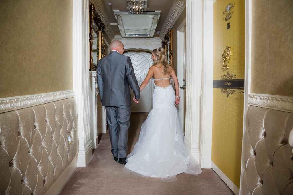 Bride & Groom Corridor 30 James Street