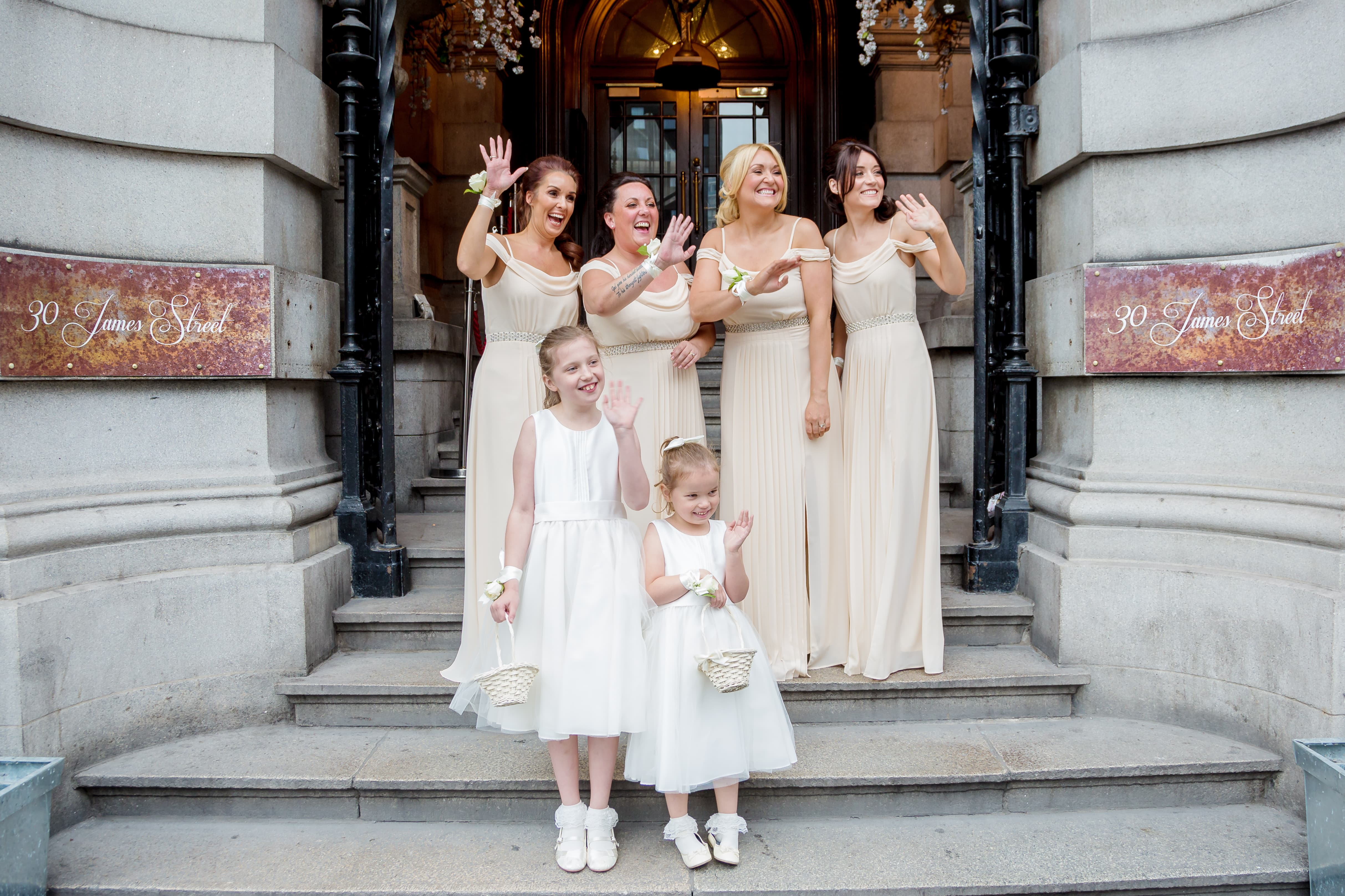 30 James Street Liverpool Bridesmaids