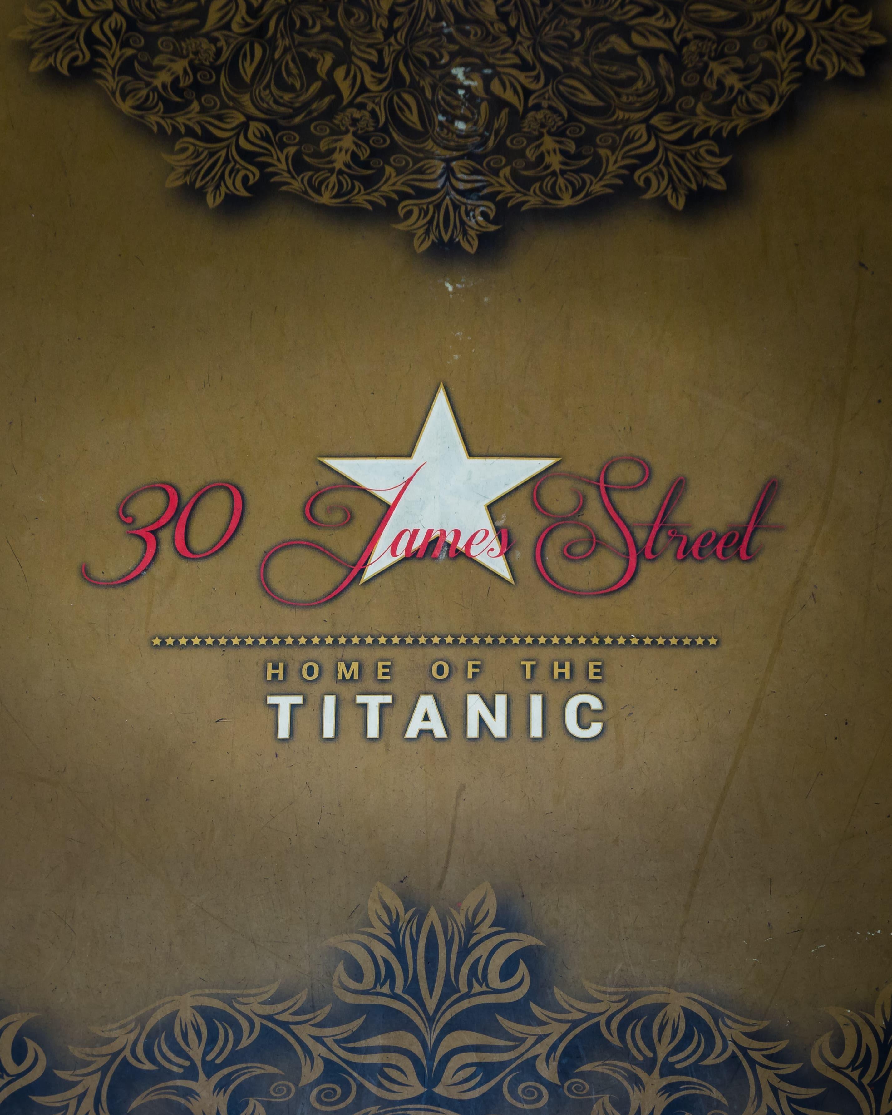 Wedding Venue 30 James Street home of the Titanic