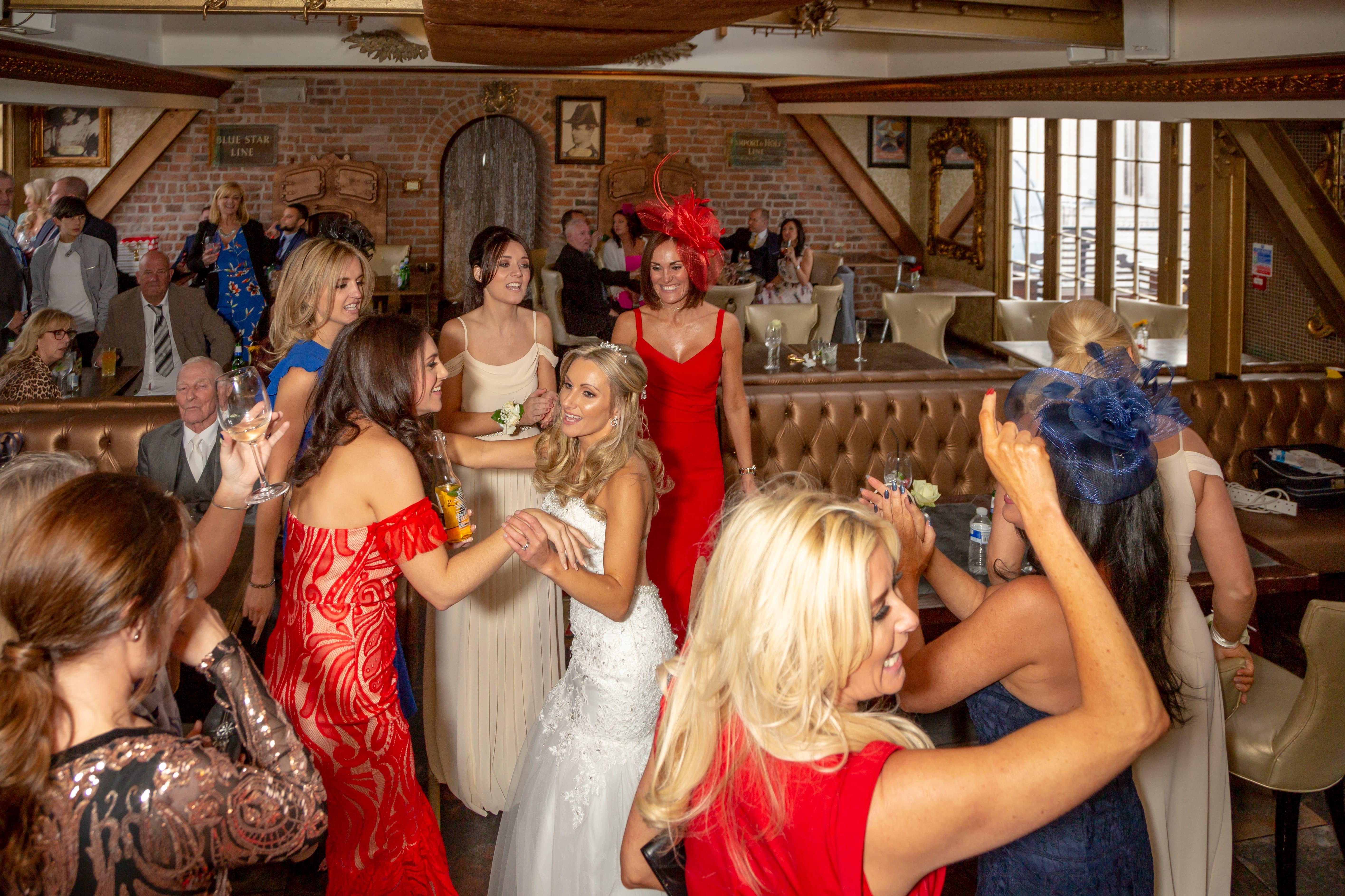 Bride Dancing 30 James Street Liverpool