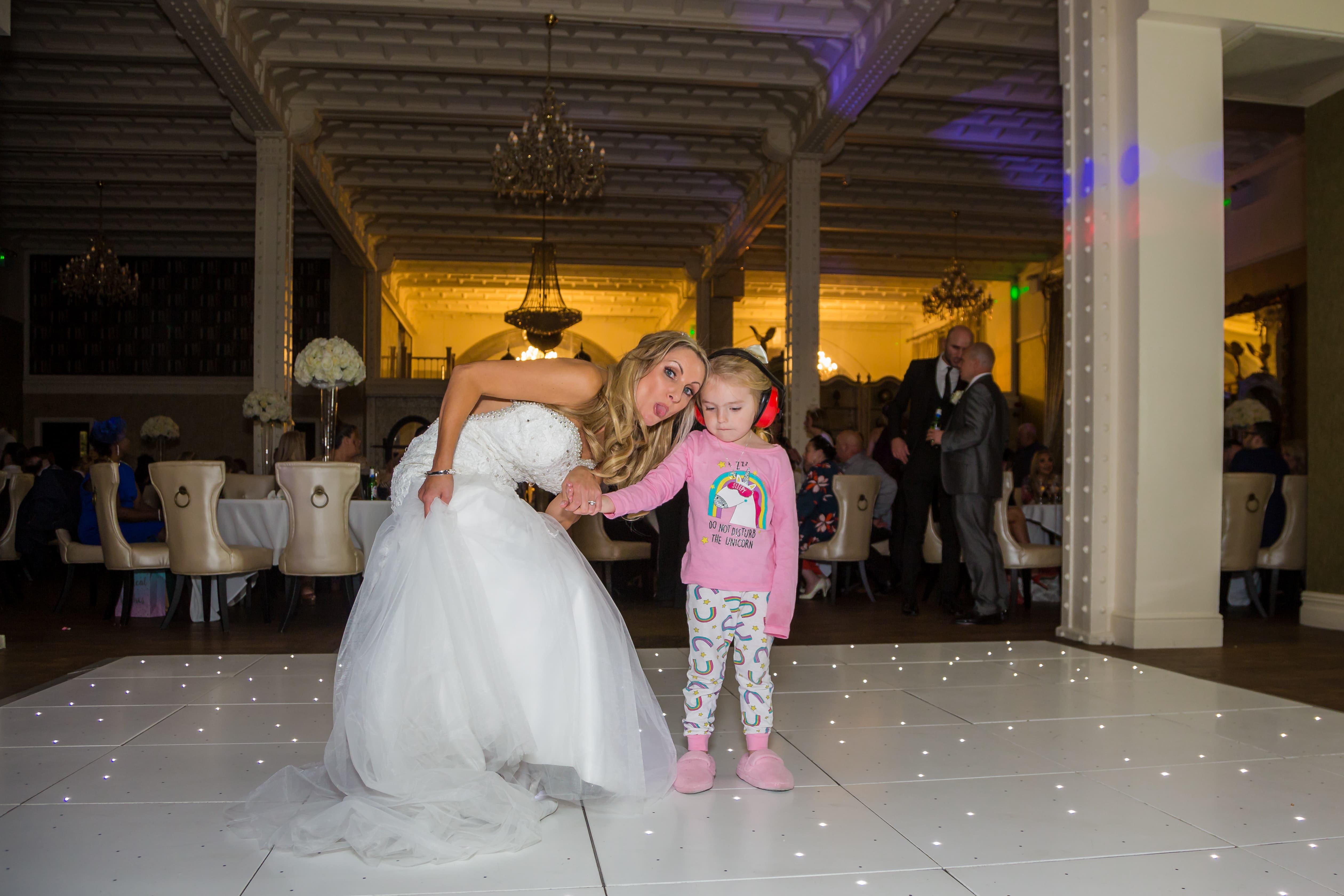 Dance floor bride 30 James Street Liverpool