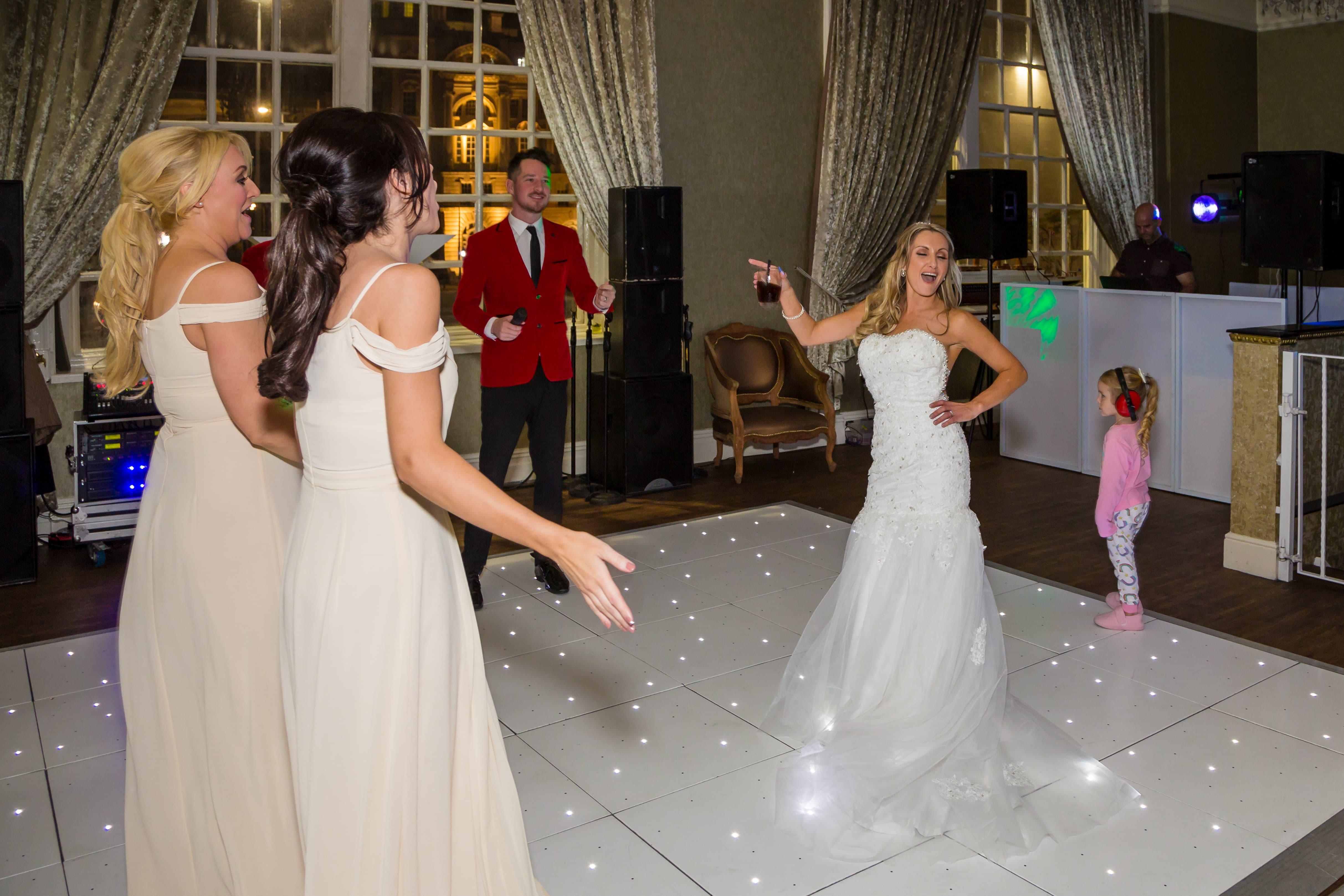 Dance floor bride hotel 30 James Street Liverpool