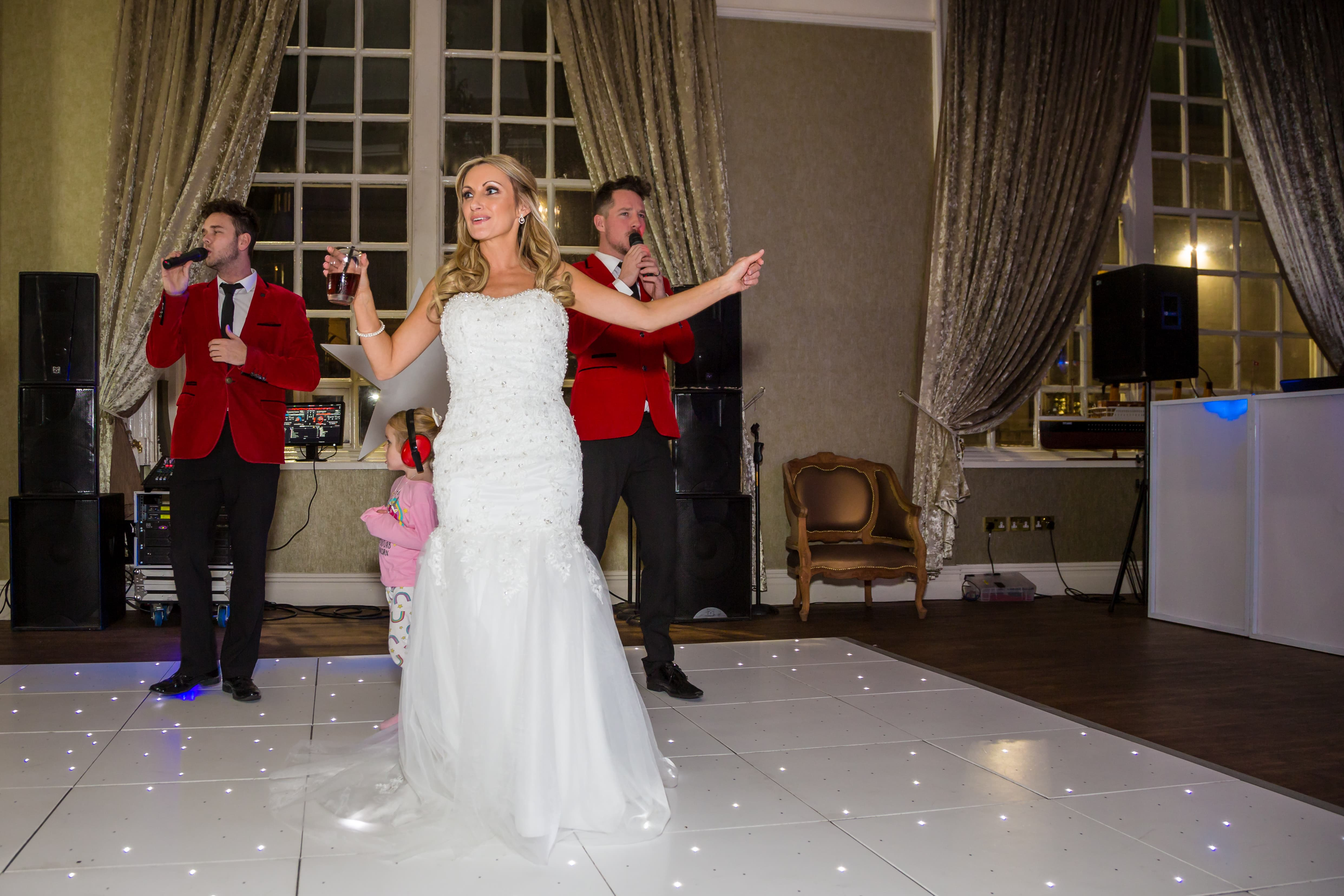 Singing Bride Dance Floor 30 james Street wedding