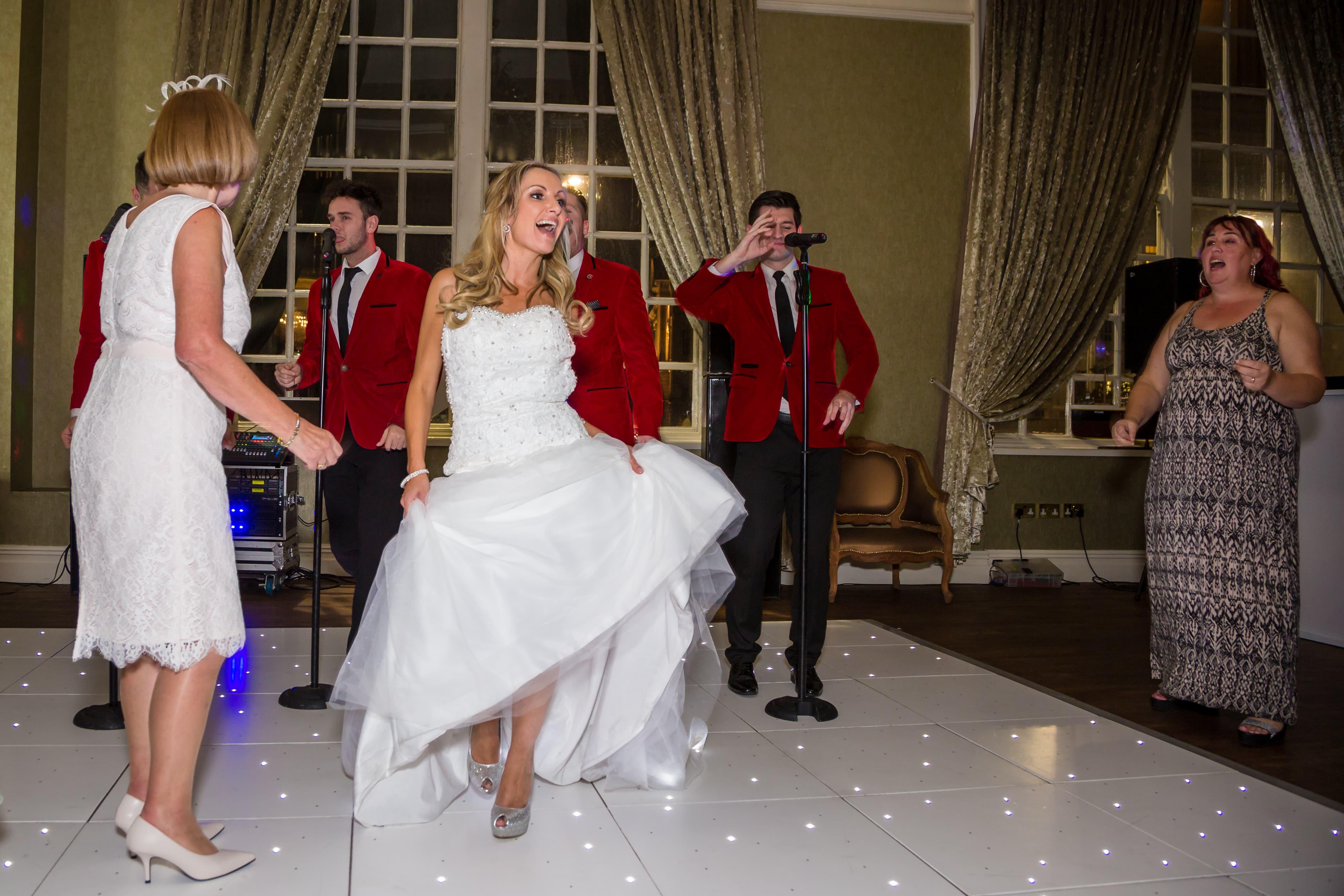 Dancing Bride Dance Floor 30 james Street wedding